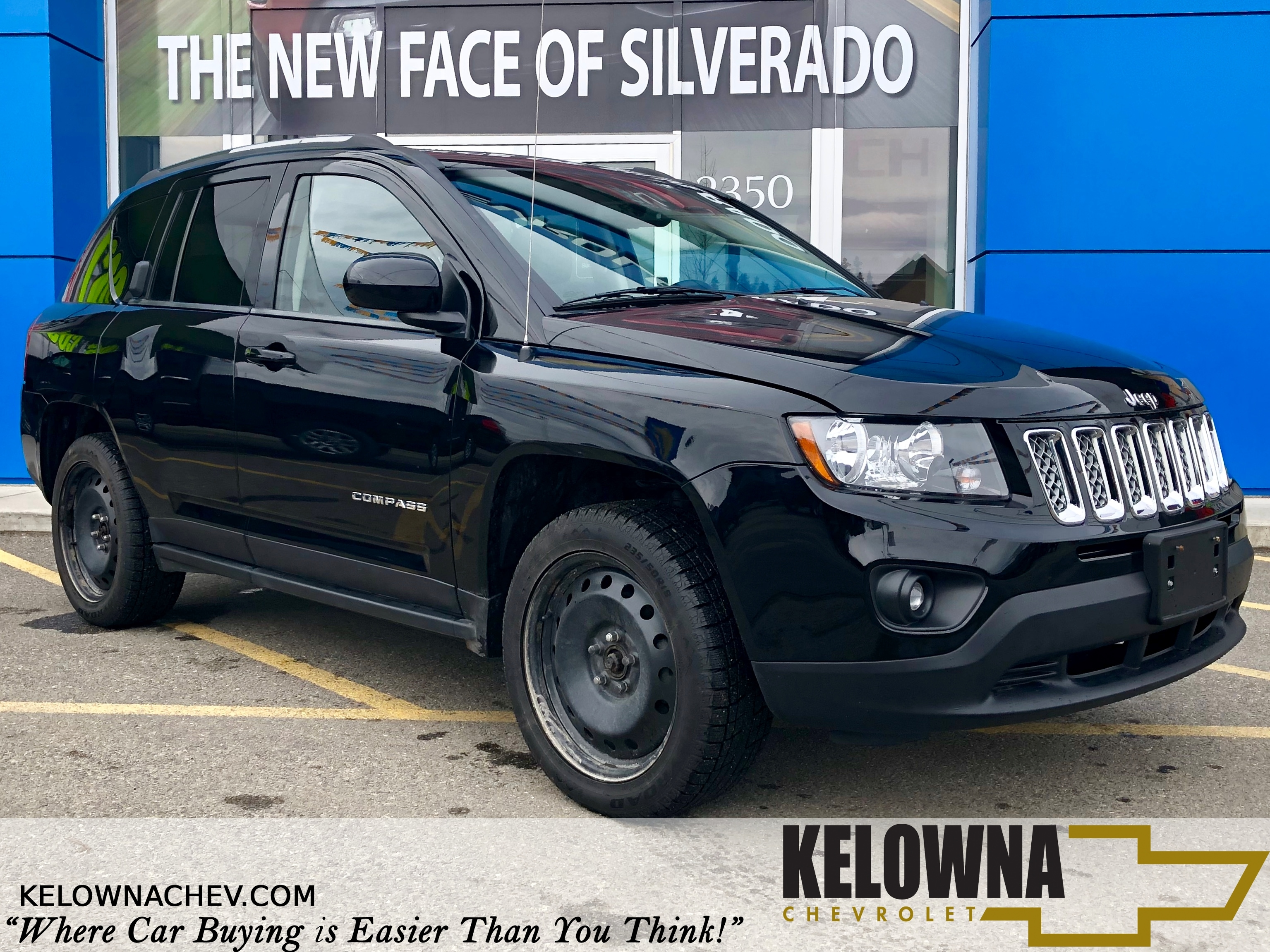 2014 Jeep Compass Sport/North Uconnect, Bluetooth, Heated Seats 4x4 SUV
