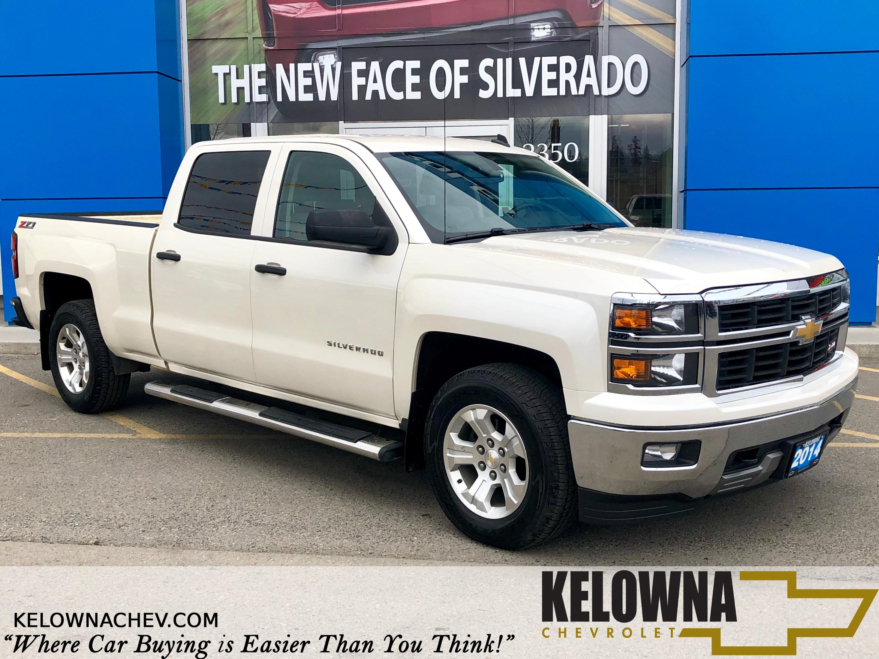 2014 Chevrolet Silverado 1500 Chevrolet MyLink, All Terrain Tires, 4x4 Truck Crew Cab