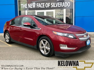 2011 Chevrolet Volt PREM Navigation System, Heated Seats Hatchback