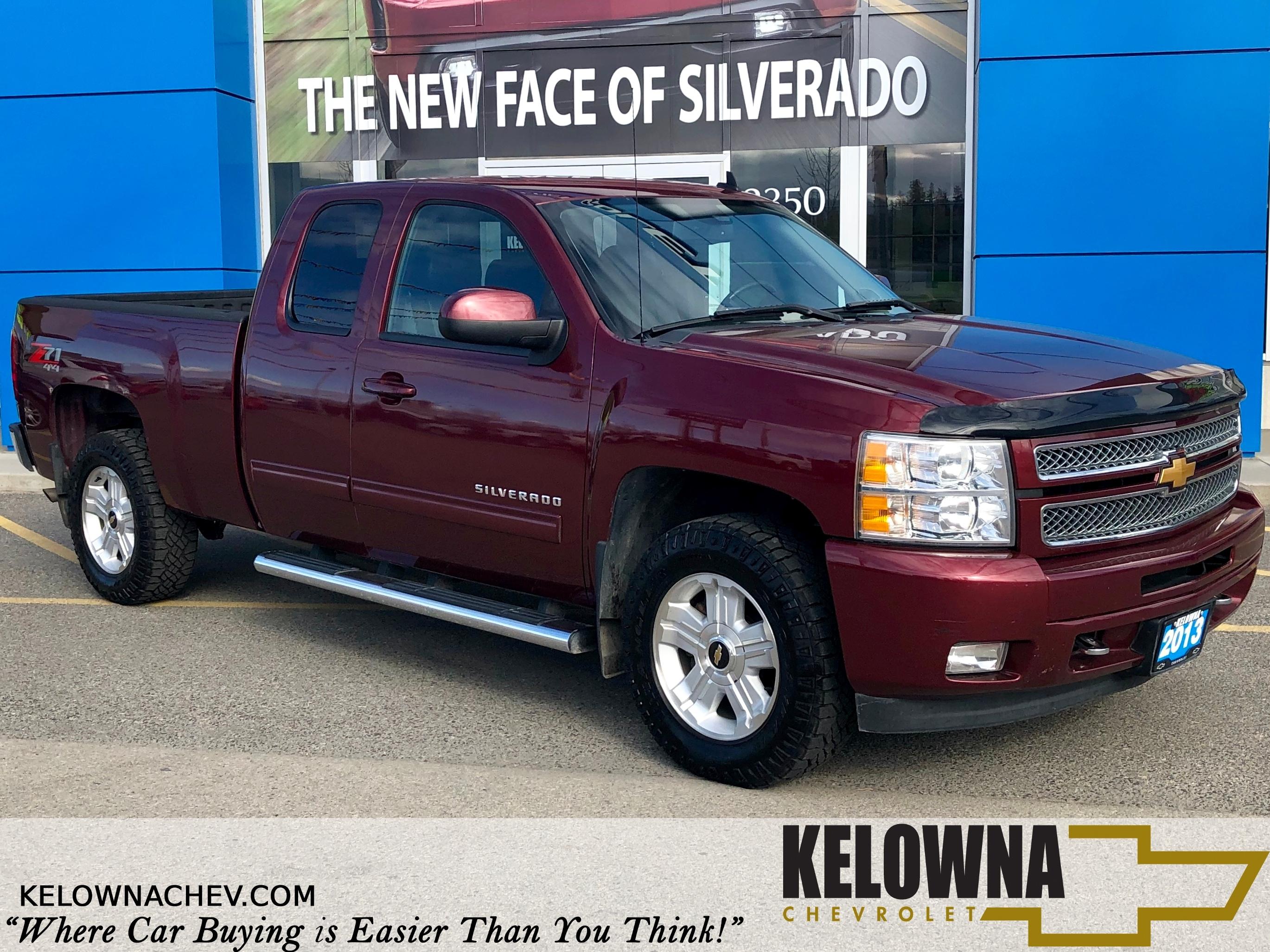 2013 Chevrolet Silverado 1500 LTZ Bluetooth, Back Up Camera 4x4 Truck Extended Cab