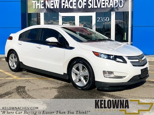 2014 Chevrolet Volt Base Bluetooth, Heated Seats, Back Up Camera Hatchback