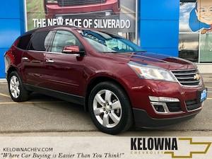 2017 Chevrolet Traverse LT 1LT AWD, Remote Start, Heated Seats, Rear Cam