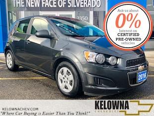 2016 Chevrolet Sonic LS Auto, Bluetooth, Remote Keyless Entry, 4 Door Hatchback