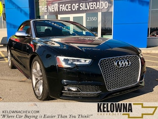 2015 Audi S5 3.0T Technik Quattro, Convertible, Back Up Camera Convertible