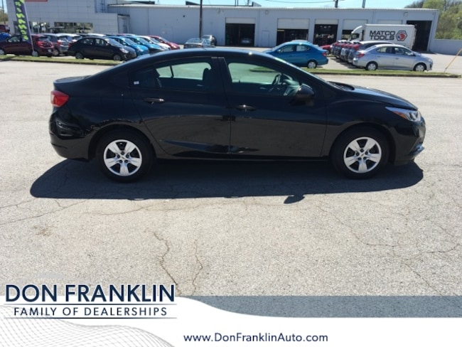 Used 2018 Chevrolet Cruze LS Auto Sedan For Sale in Nicholasville, KY