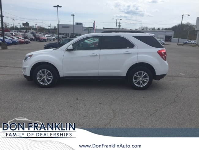Used 2016 Chevrolet Equinox LT SUV For Sale in Nicholasville, KY