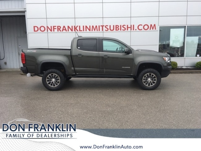 Used 2018 Chevrolet Colorado ZR2 Truck Crew Cab For Sale in Nicholasville, KY