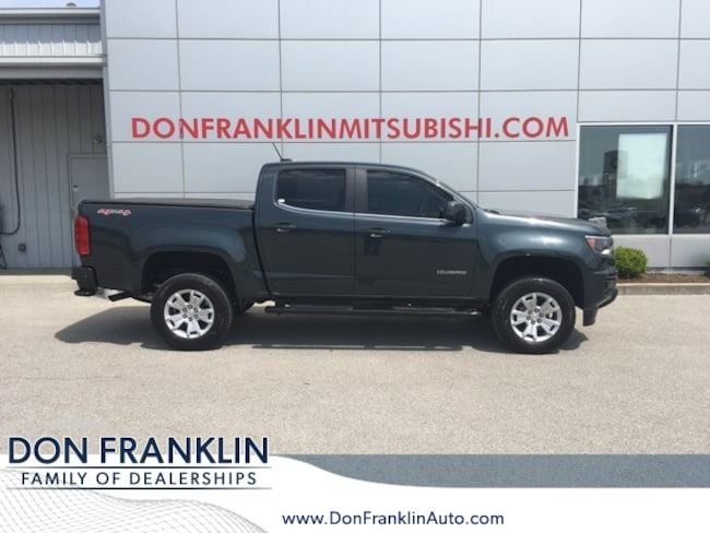Used 2017 Chevrolet Colorado LT Truck Crew Cab For Sale in Nicholasville, KY