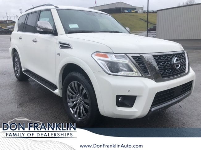 New 2019 Nissan Armada Platinum SUV For Sale near Somerset, Ky