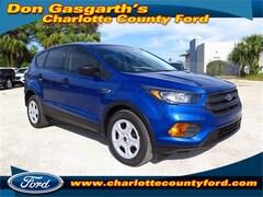 New 2018 Ford Escape S SUV in Port Charlotte