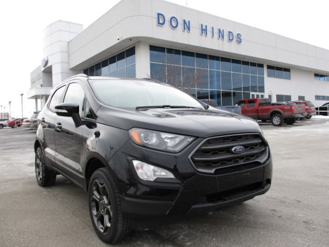 New 2018 Ford EcoSport SES SES 4WD for sale in Fishers, IN
