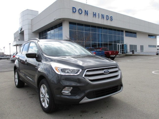 New 2018 Ford Escape SEL SEL 4WD for sale in Fishers, IN