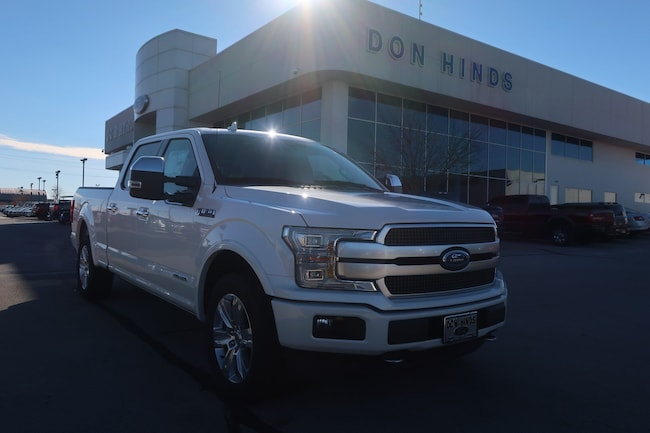 New 2018 Ford F-150 Platinum for sale in Fishers, IN