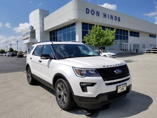 Used 2018 Ford Explorer Sport Sport 4WD in Fishers, IN