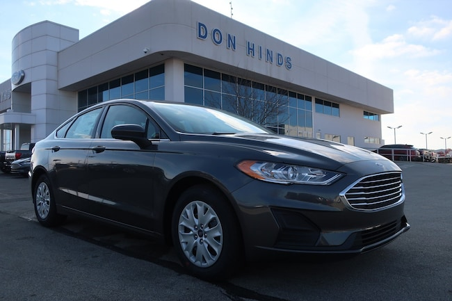 New 2019 Ford Fusion S S FWD for sale in Fishers, IN