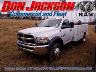2018 Ram 4500 Chassis Service Body Truck Regular Cab