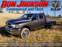 2018 Ram 3500 Chassis Flatbed Gooseneck Truck Crew Cab