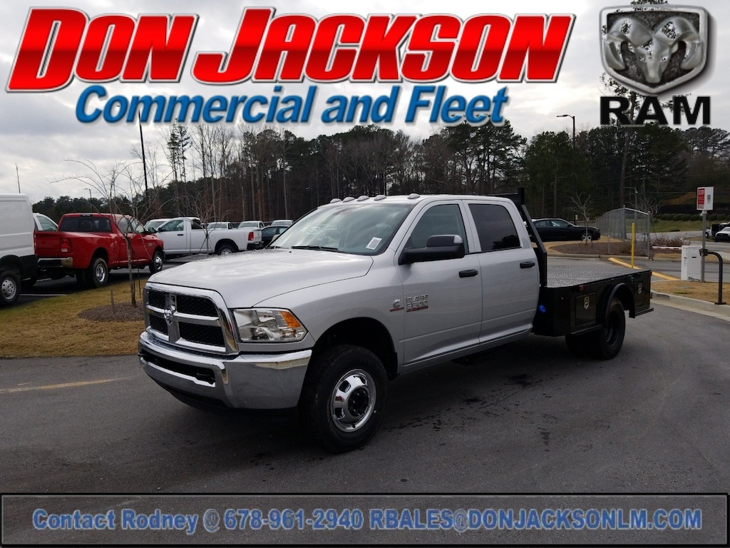 New 2018 Ram 3500 Chassis For Sale at Don Jackson Commercial