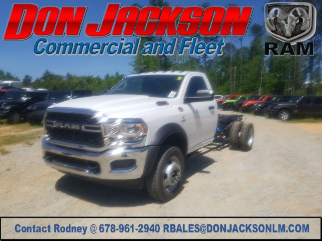 New 2019 Ram 5500 Chassis For Sale at Don Jackson Commercial