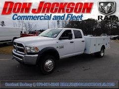 2018 Ram 4500 Chassis Service Body Truck Crew Cab