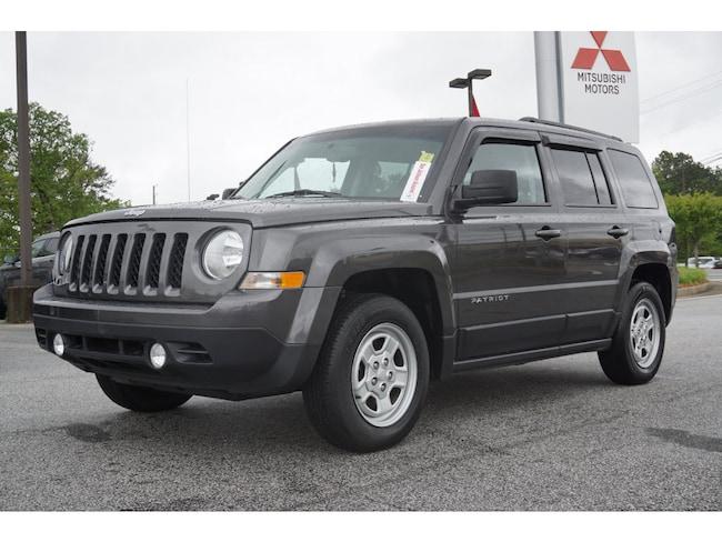 Jeep Patriot For Sale Near Me >> Used 2016 Jeep Patriot For Sale Near Atlanta Union City Ga Vin