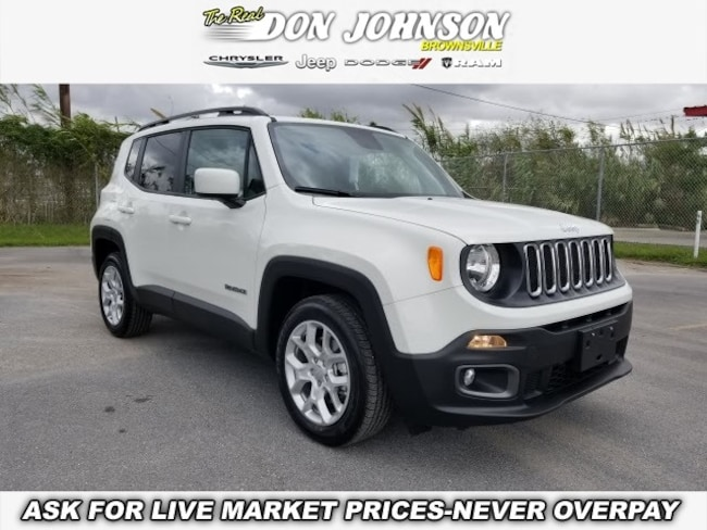 New 2018 Jeep Renegade LATITUDE 4X2 Sport Utility For Sale Brownsville, TX