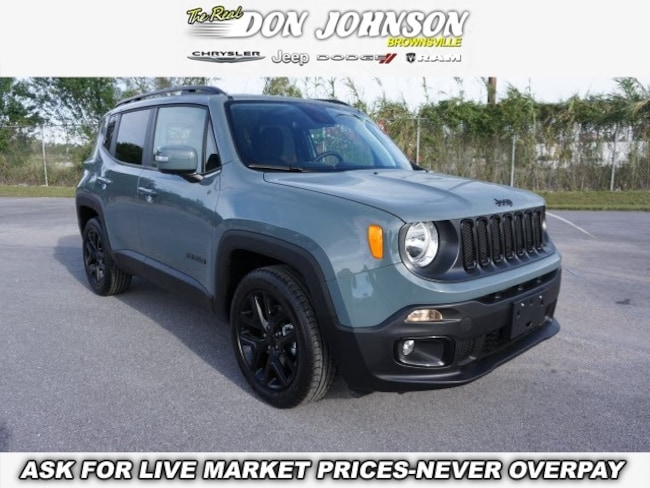 New 2018 Jeep Renegade ALTITUDE 4X2 Sport Utility For Sale Brownsville, TX