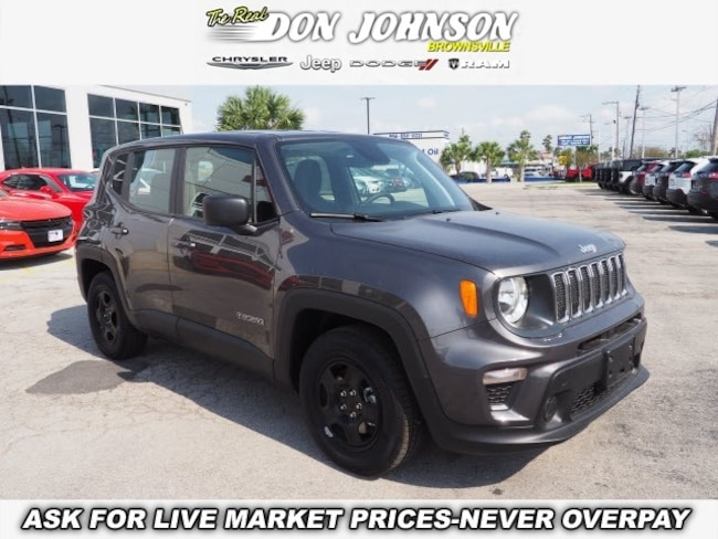 New 2019 Jeep Renegade SPORT 4X2 Sport Utility For Sale Brownsville, TX