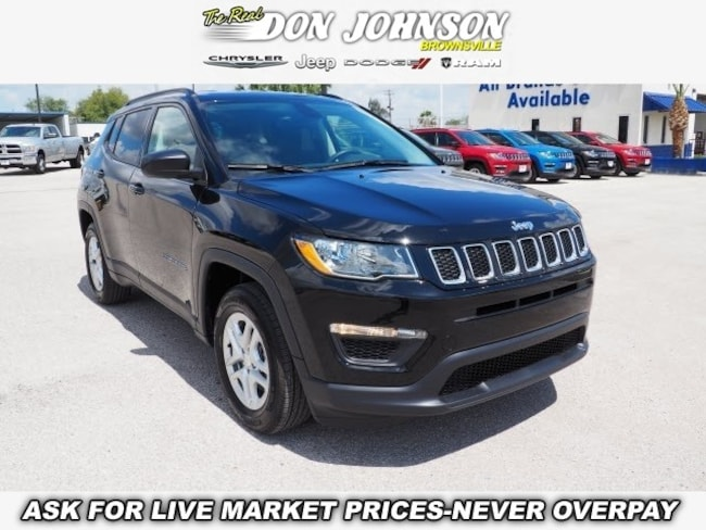 New 2018 Jeep Compass SPORT FWD Sport Utility For Sale Brownsville, TX