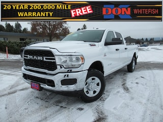 New 2020 Ram 3500 TRADESMAN CREW CAB 4X4 8' BOX Crew Cab for sale in Whitefish, MT