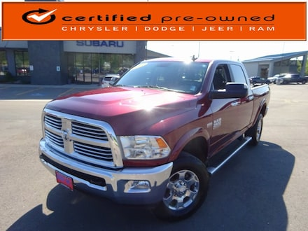 Featured Used 2017 Ram 2500 SLT Truck Crew Cab for Sale near Evergreen, MT