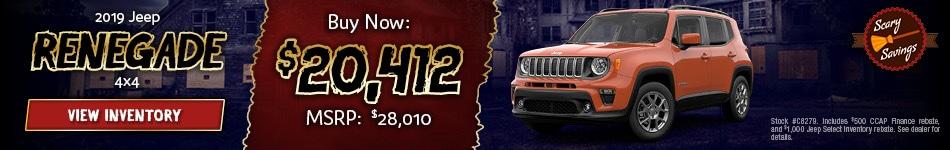 October 2019 Jeep Renegade