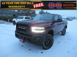 New 2020 Ram 2500 POWER WAGON CREW CAB 4X4 6'4 BOX Crew Cab for sale in Whitefish, MT