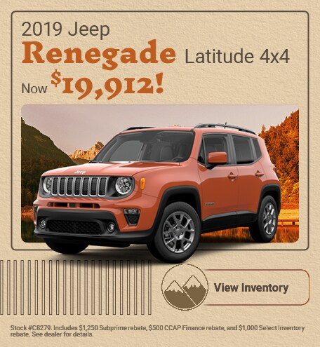 2019 Jeep Renegade Latitude 4x4 - September