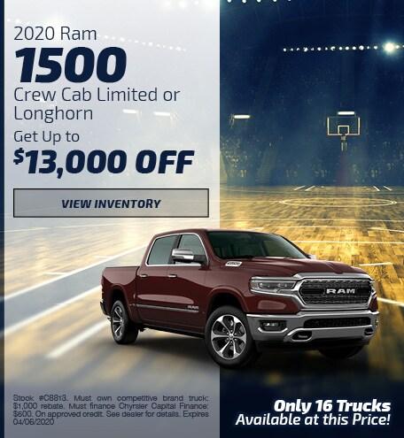 March 2020 Ram 1500 Offer