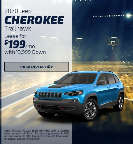 March 2020 Jeep Cherokee Offer
