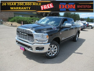 New 2021 Ram 3500 LIMITED MEGA CAB 4X4 6'4 BOX Mega Cab for sale in Whitefish, MT