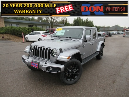 Featured New 2021 Jeep Gladiator HIGH ALTITUDE 4X4 Crew Cab for Sale in Whitefish, MT