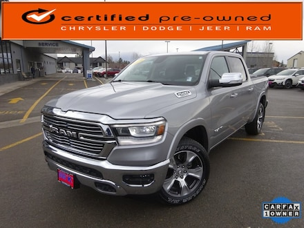 Featured Used 2019 Ram All-New 1500 Laramie Truck Crew Cab for Sale near Evergreen, MT
