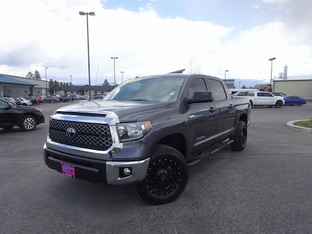 Featured Used 2018 Toyota Tundra Truck CrewMax for Sale near Evergreen, MT