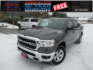 New 2021 Ram 1500 BIG HORN CREW CAB 4X4 5'7 BOX Crew Cab for sale in Whitefish, MT