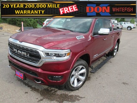 Featured New 2021 Ram 1500 LIMITED CREW CAB 4X4 5'7 BOX Crew Cab for Sale in Whitefish, MT