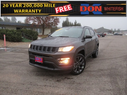 Featured New 2021 Jeep Compass 80TH ANNIVERSARY 4X4 Sport Utility for Sale in Whitefish, MT