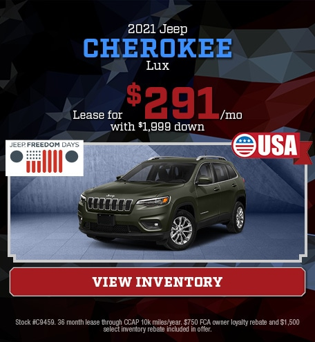 2021 Jeep Cherokee Lux