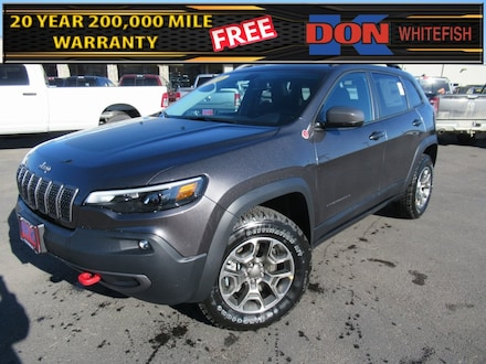 Featured New 2020 Jeep Cherokee TRAILHAWK 4X4 Sport Utility for Sale in Whitefish, MT