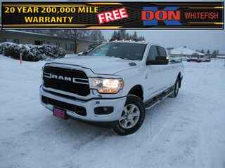 New 2021 Ram 3500 BIG HORN CREW CAB 4X4 8' BOX Crew Cab for sale in Whitefish, MT