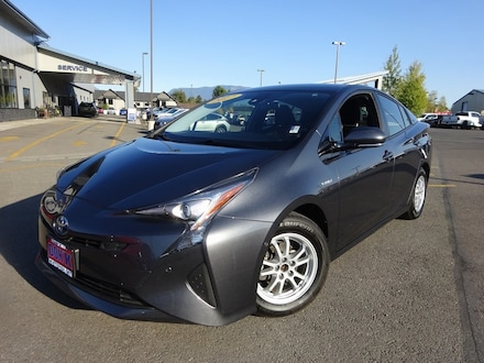 Featured Used 2017 Toyota Prius 5-Door Four Hatchback for Sale near Evergreen, MT