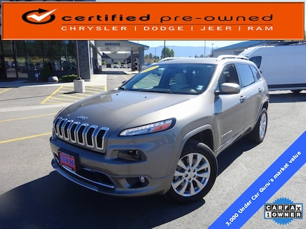 Featured Used 2017 Jeep Cherokee Overland 4x4 SUV for Sale near Evergreen, MT