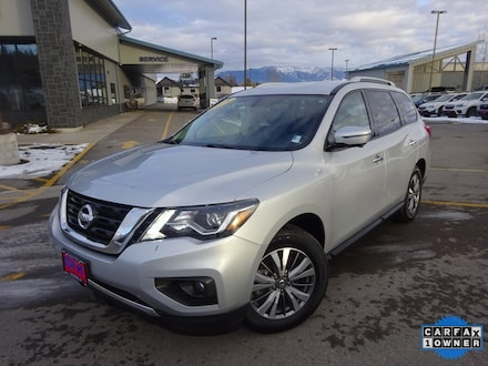 Featured Used 2019 Nissan Pathfinder SL SUV for Sale near Evergreen, MT