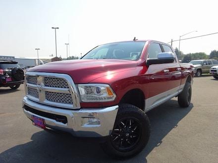 Featured Used 2015 Ram 2500 Laramie Truck Crew Cab for Sale near Evergreen, MT